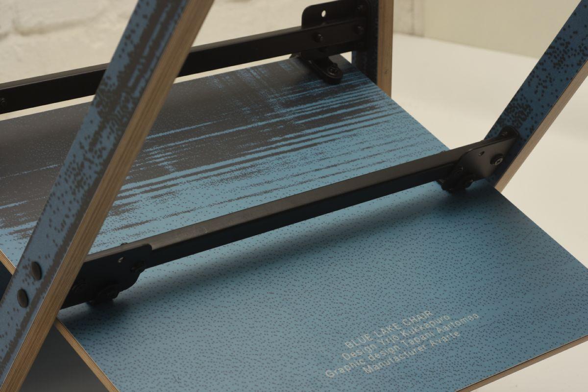 Kukkapuro Yrjo Tattoo Chair Blue Lake Detail1
