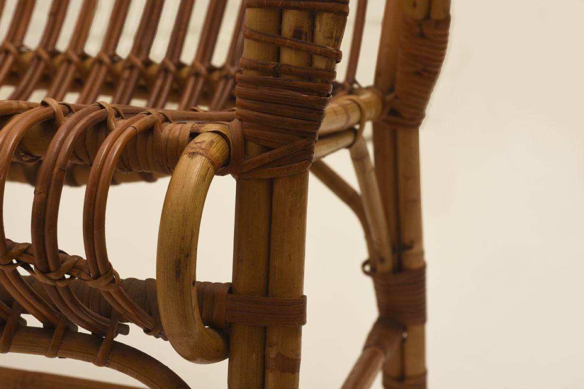 Finnish Rattan Chair Detail1