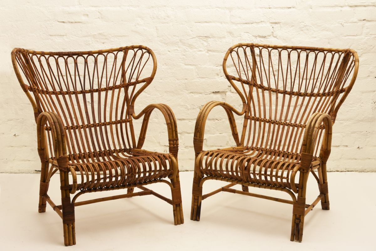 Finnish Rattan Chair Detail3
