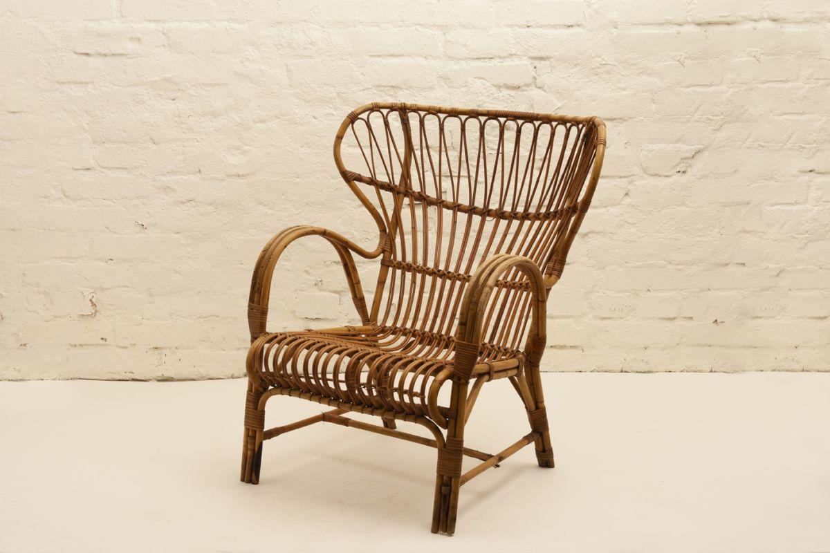 Finnish Rattan Chair
