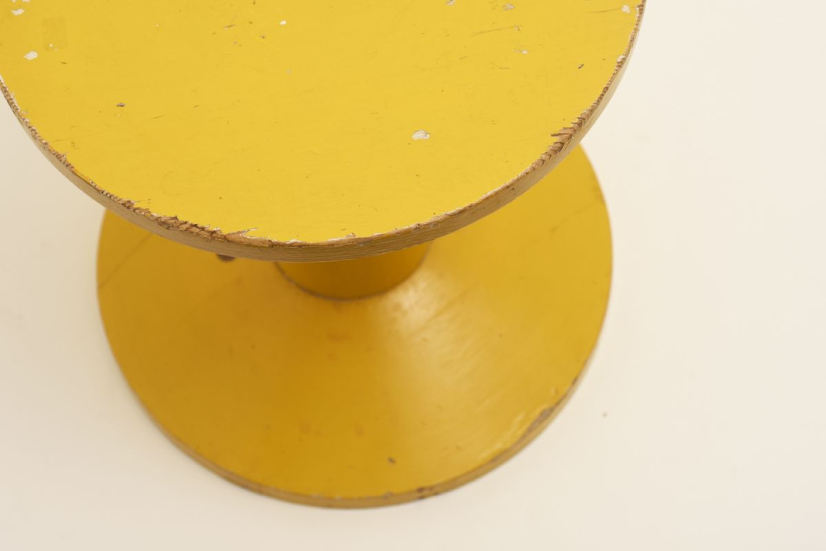 Anonymous_Wooden-Yellow-Stools