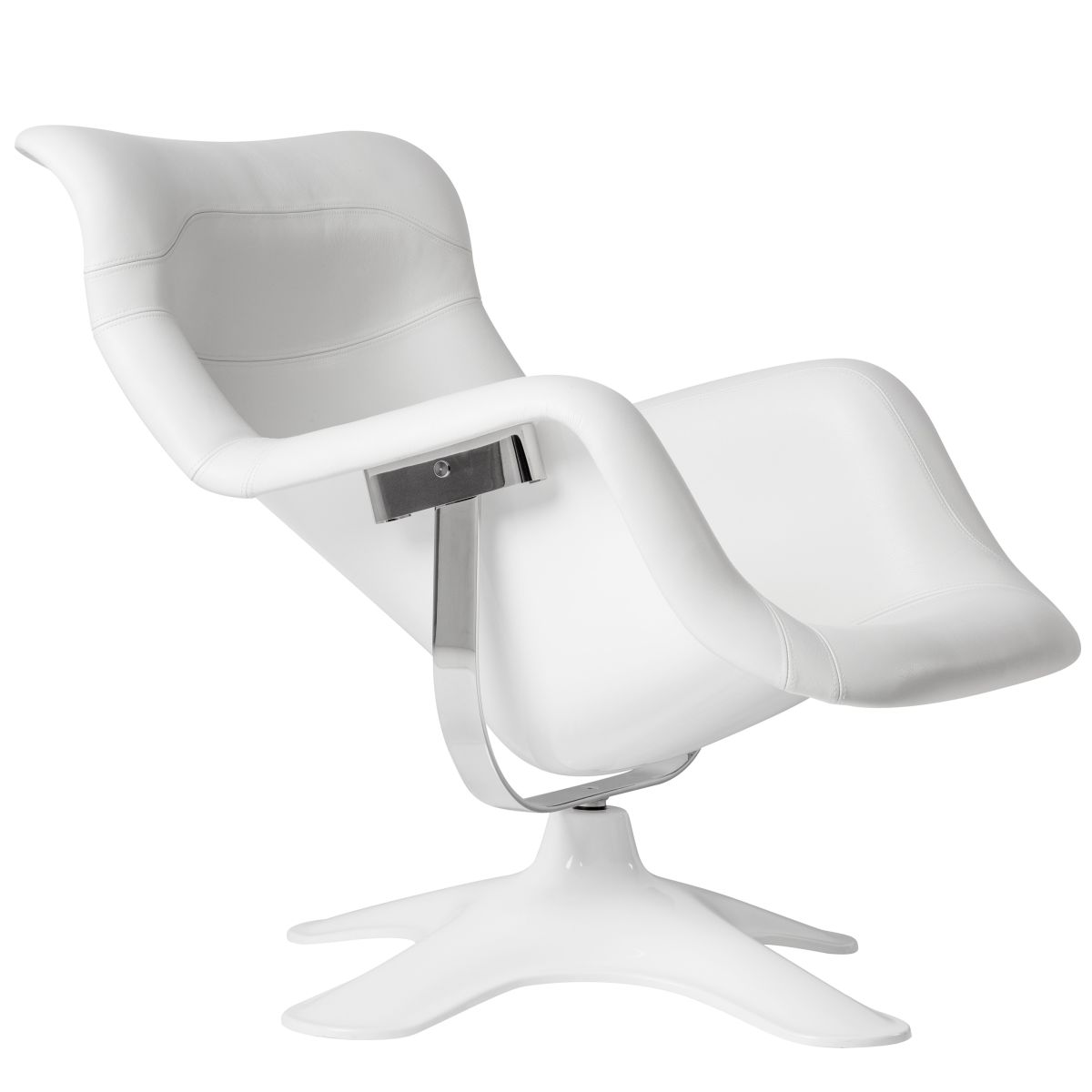 Karuselli-Lounge-Chair-White-Leather