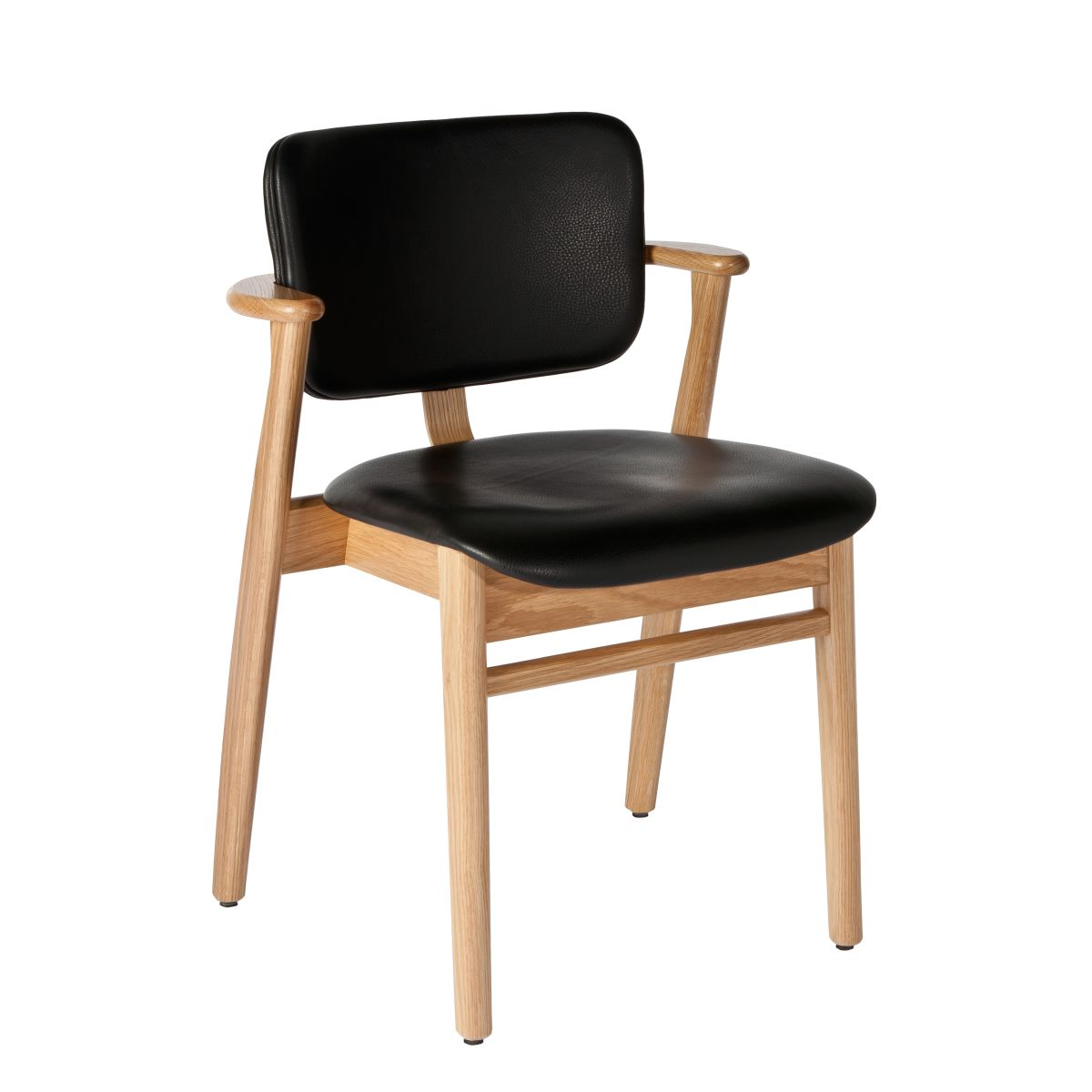 Domus Chair black leather upholstery_WEB