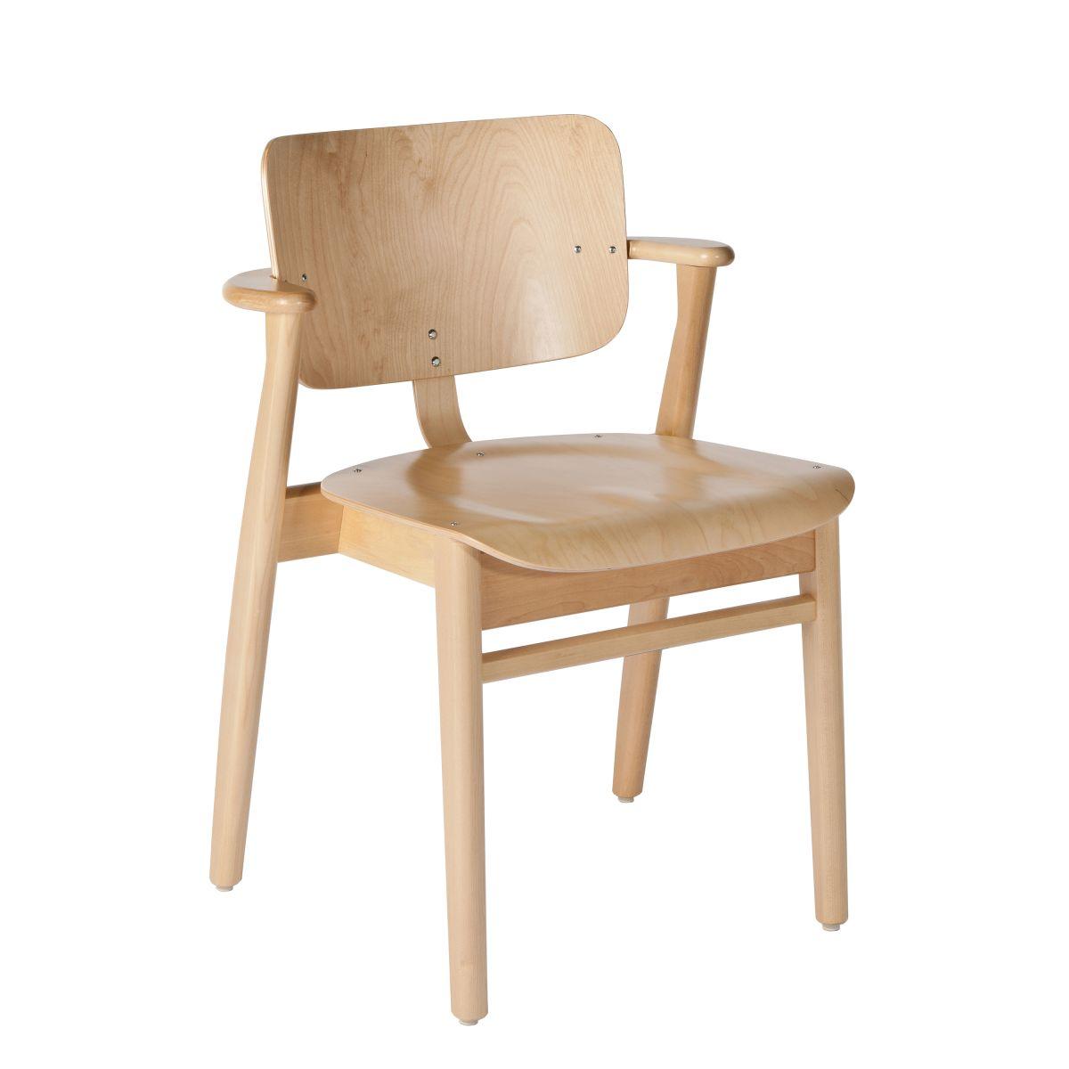 Domus Chair clear lacquer birch