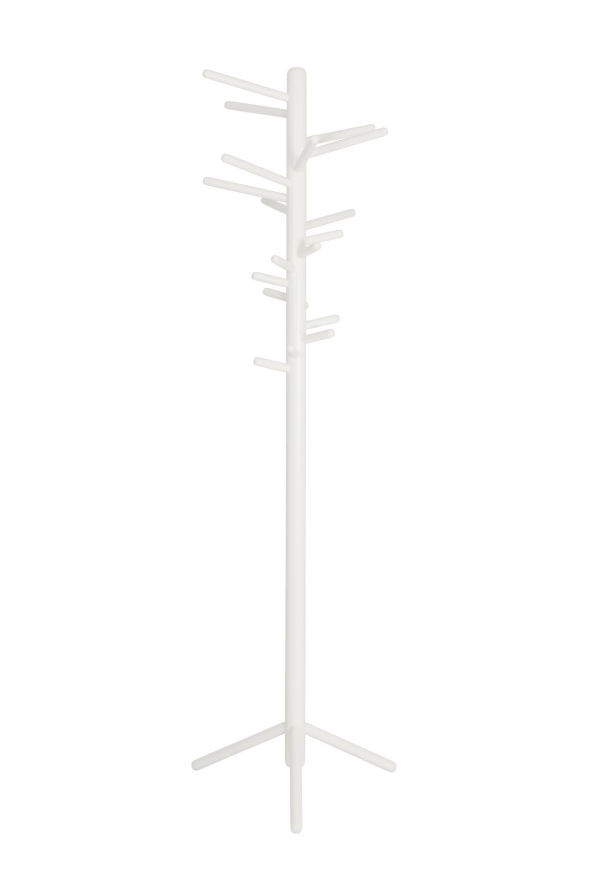 Clothes tree 160 white lacquer