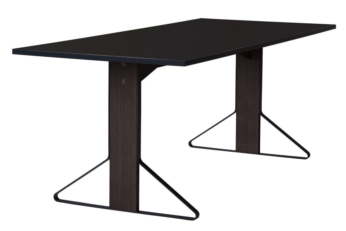 Kaari Table rectangular REB001 black oak black HPL