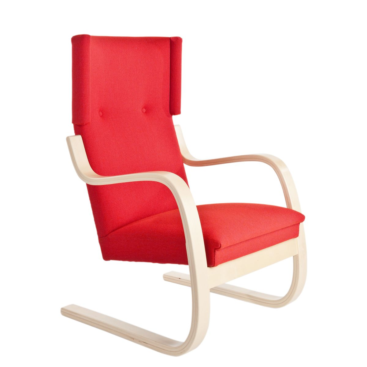 Armchair 401 red