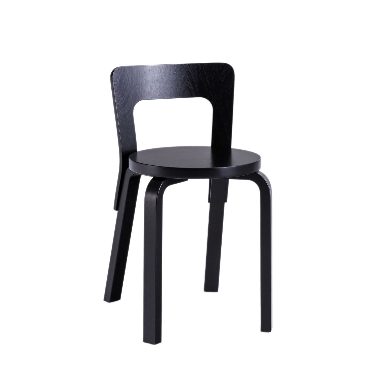 Chair 65 black lacquer