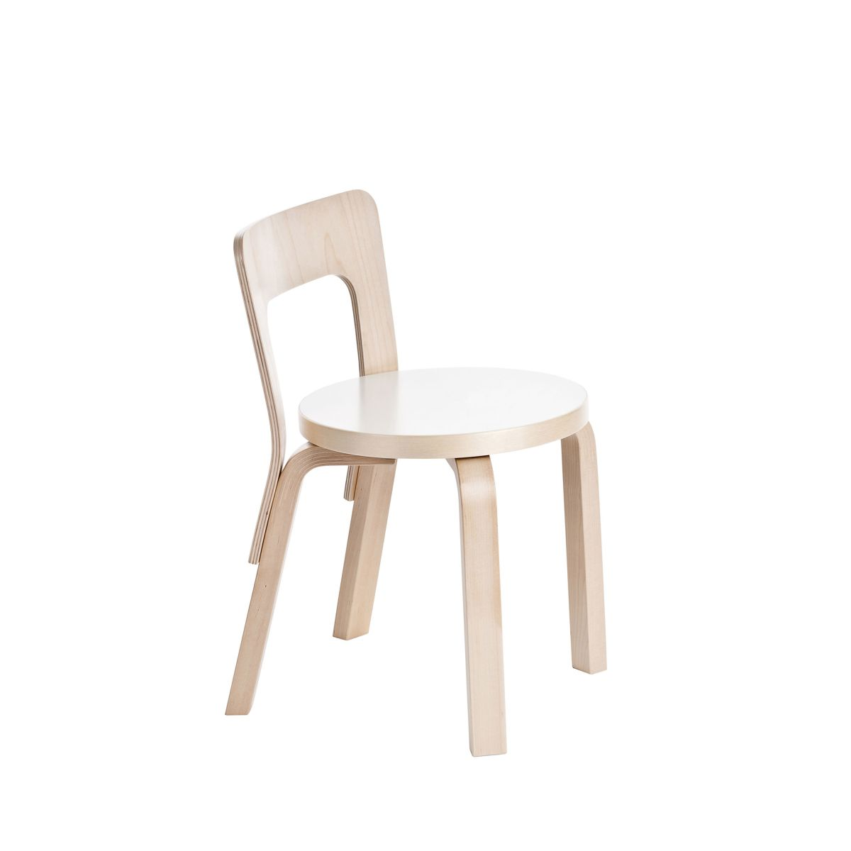 Children's Chair N65 white laminate_WEB