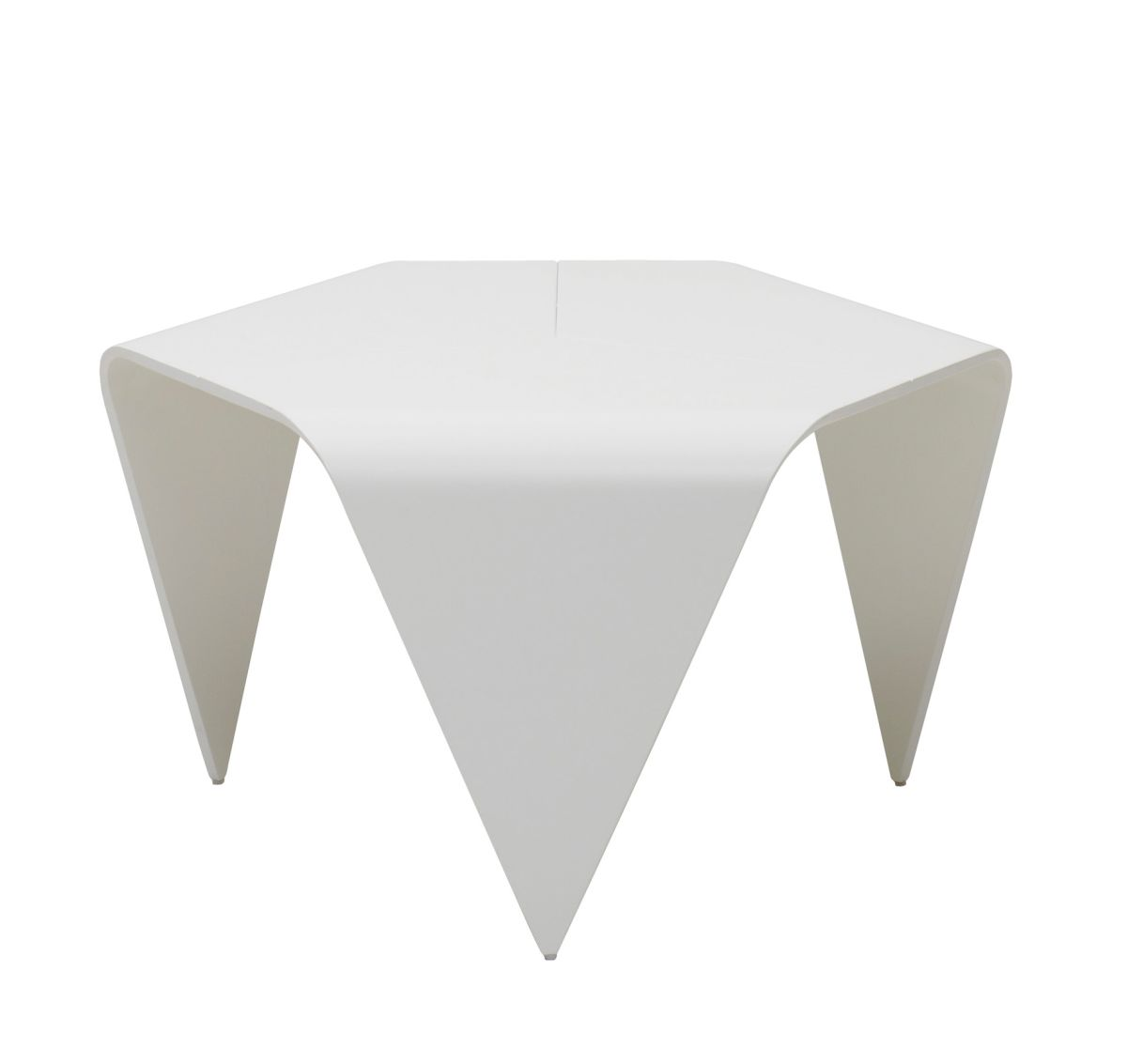 Trienna Table white lacquer