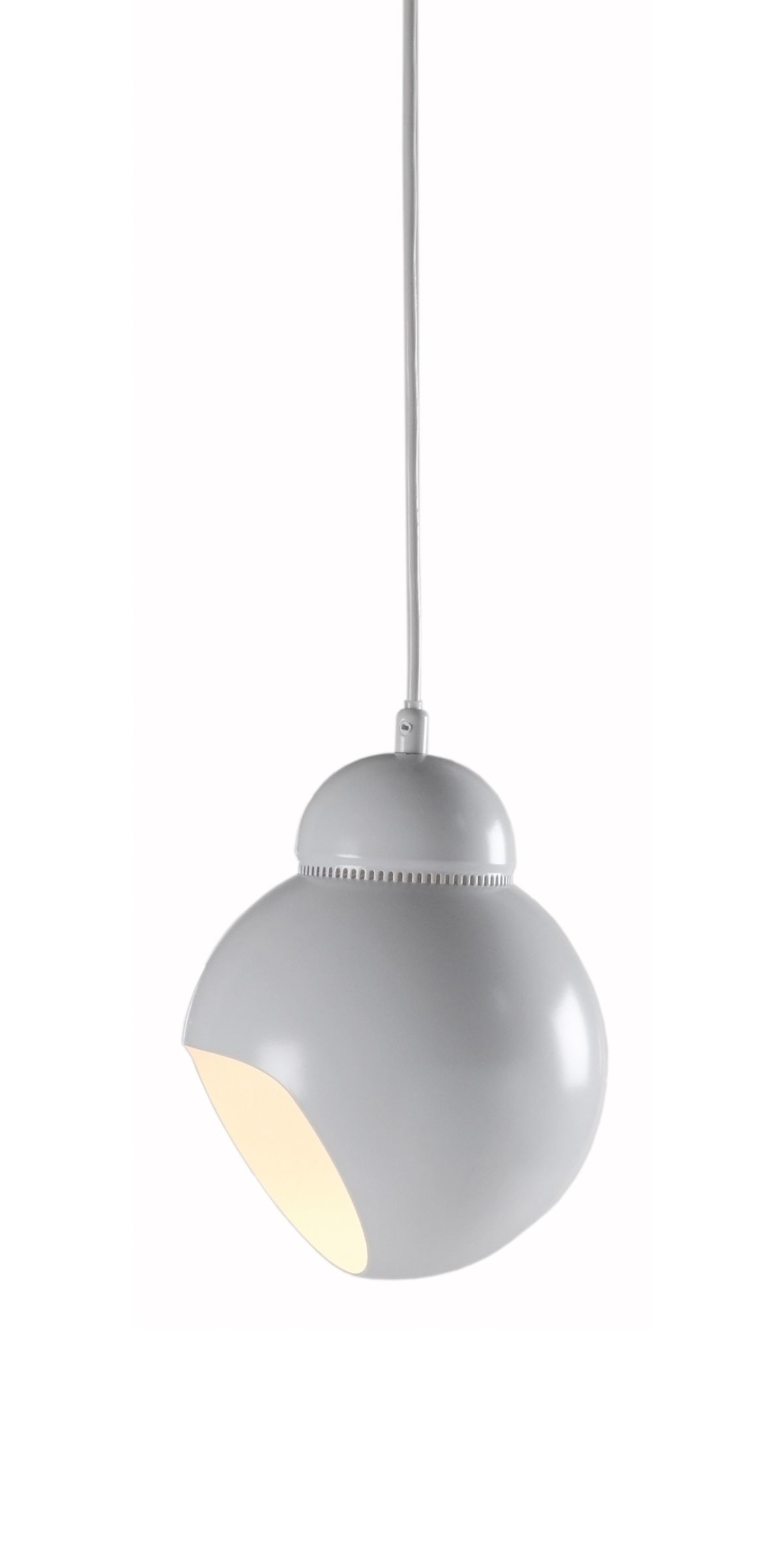 """Pendant Light A338 """"Bilberry"""" cut out - on"""