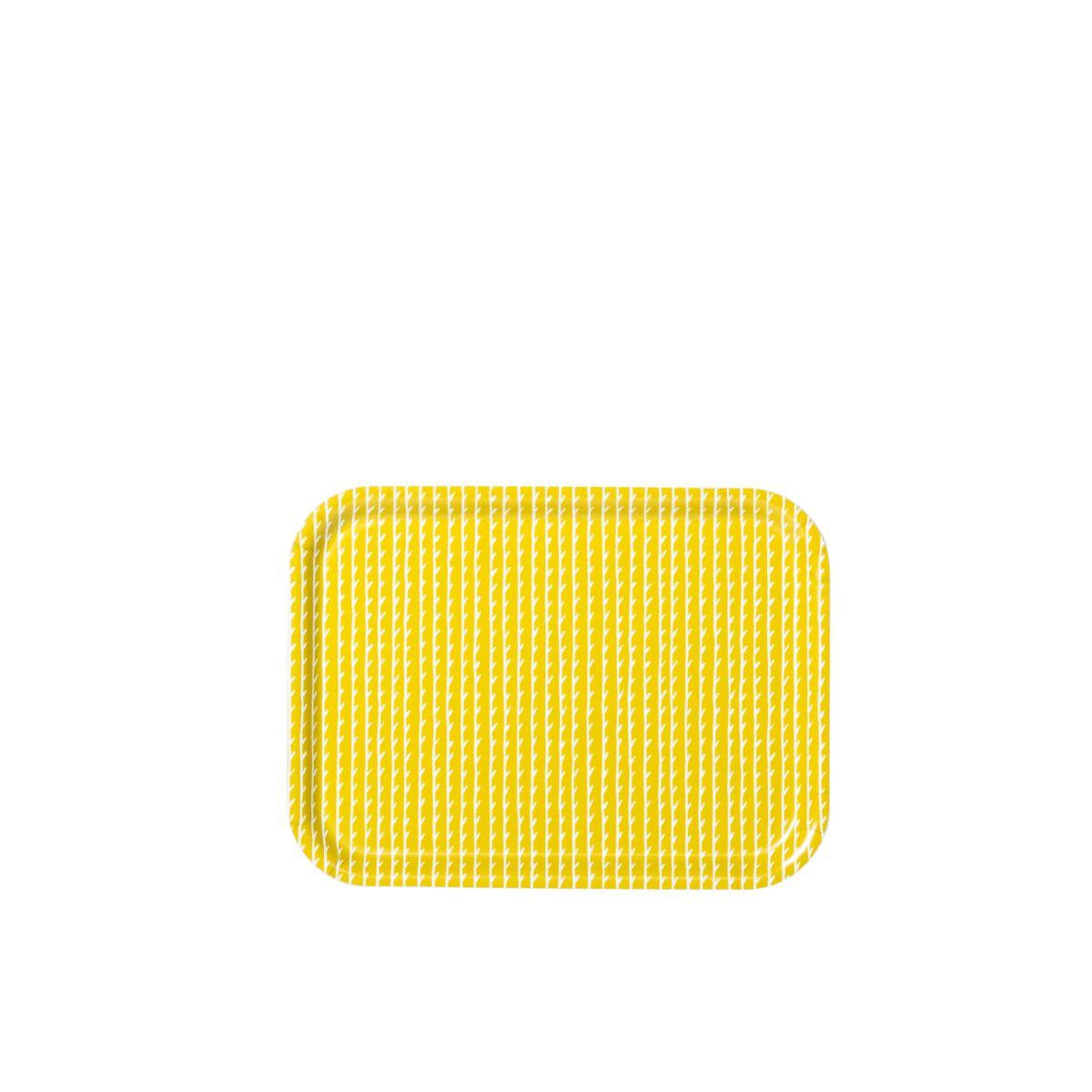 Rivi Tray yellow / white small