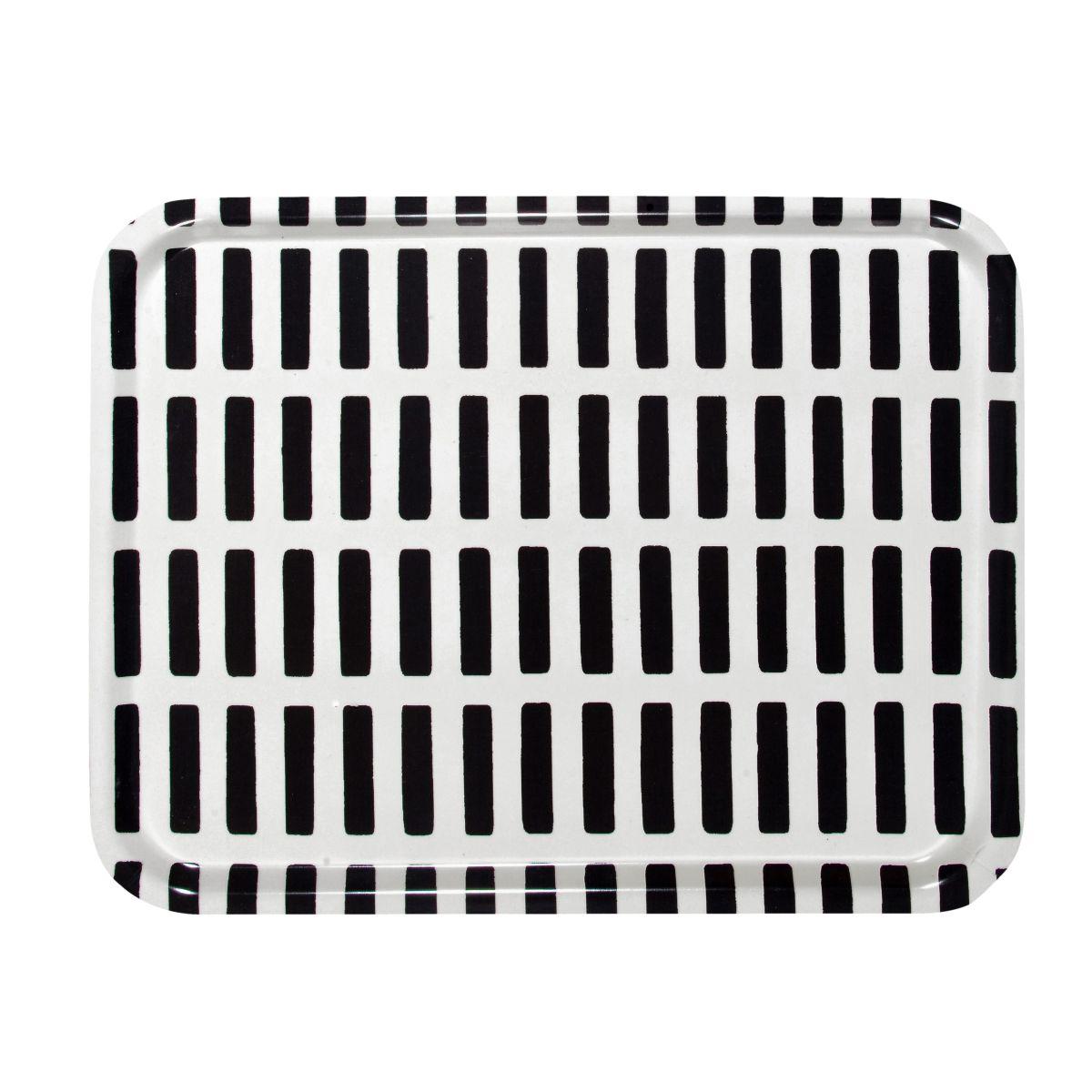 Siena Tray white / black large