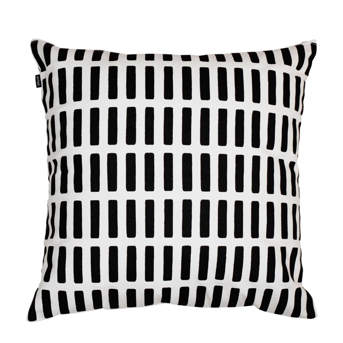 Siena Cushion Cover white / black_WEB