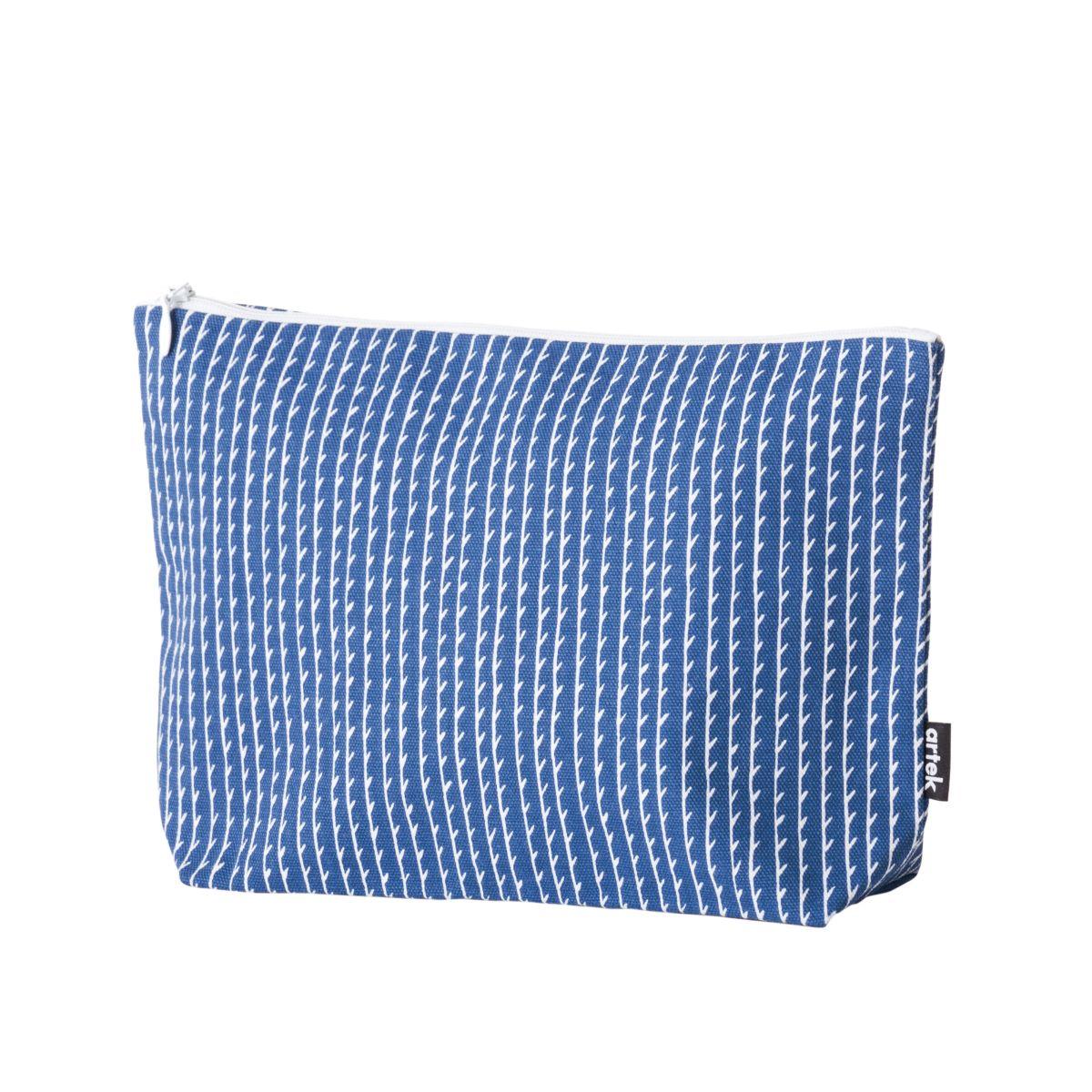 Rivi Pouch large blue white