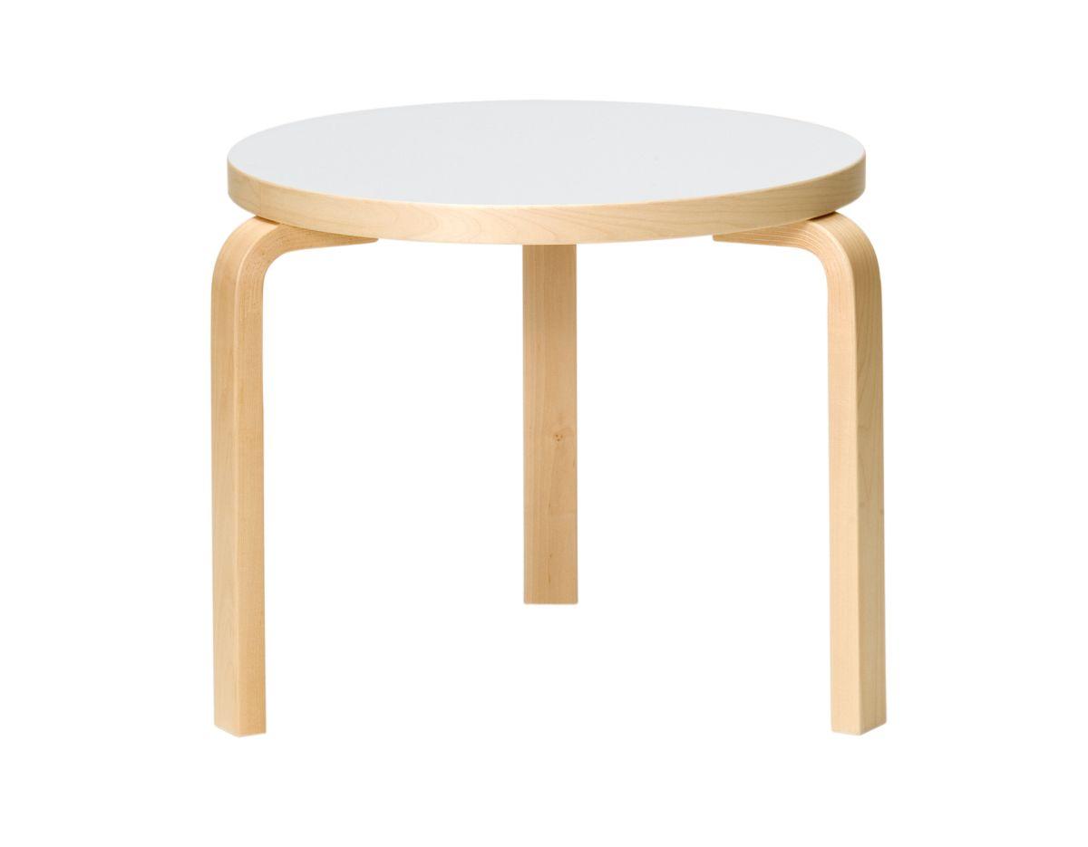 Table 90D_legs birch_top white HPL