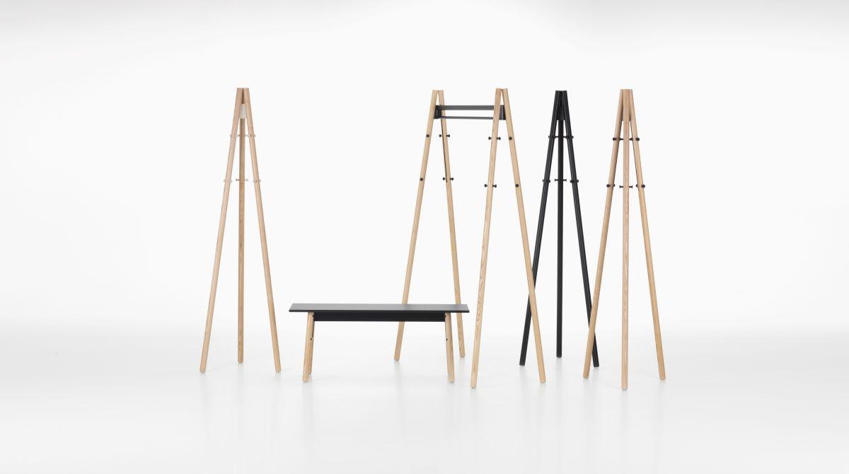 Kiila Collection, Kiila Bench, Kiila Coat Rack, Kiila Coat Stand_web