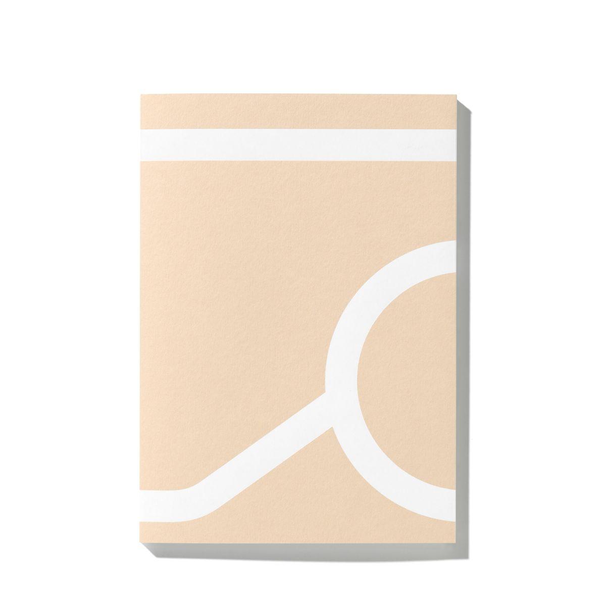 Outline Notebook, Tsto beige front_WEB