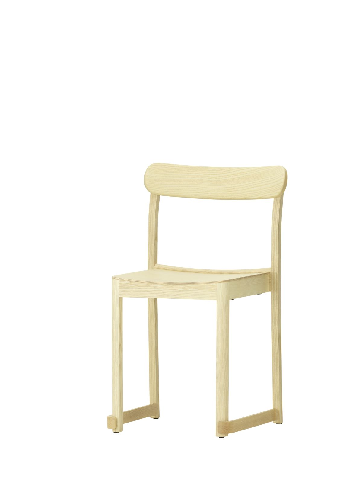 Atelier Chair natural lacquered ash_F
