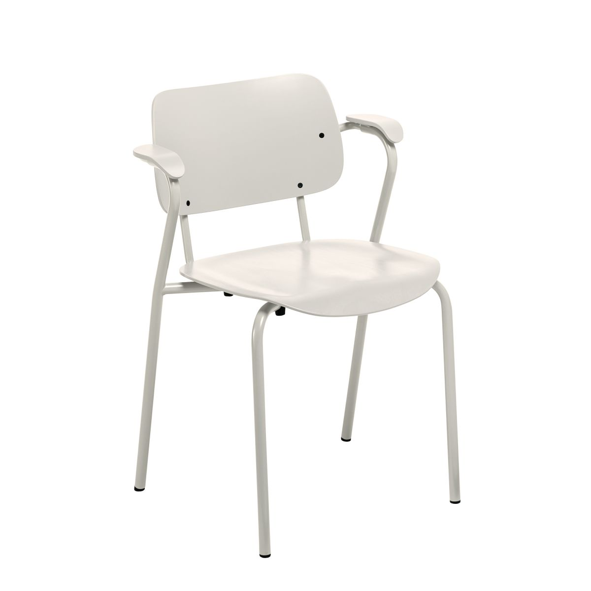 Lukki Chair white lacquer_WEB
