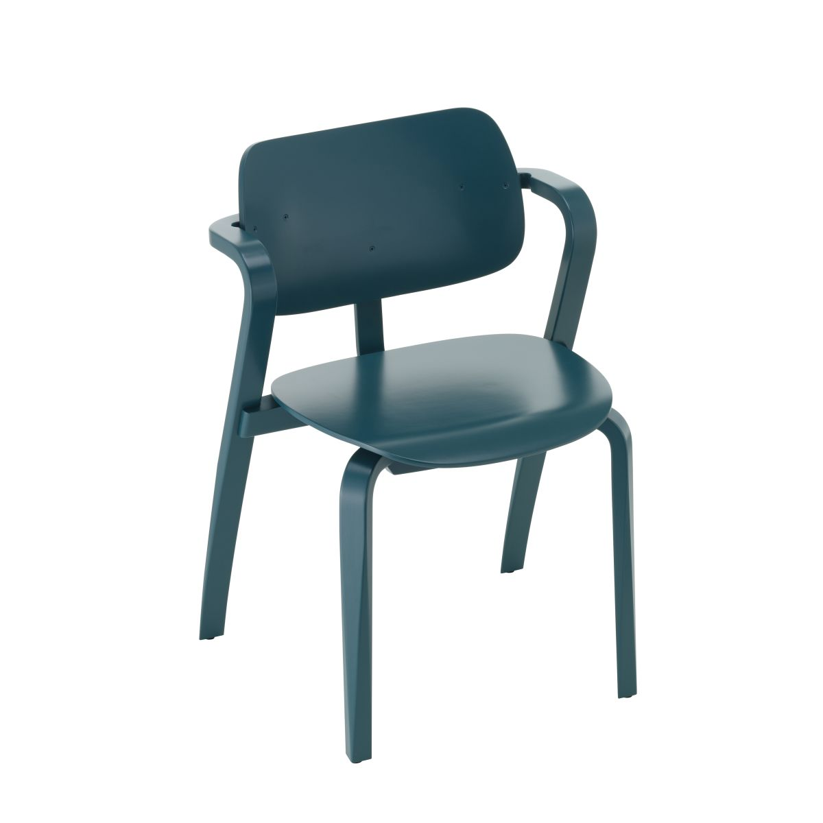 Aslak Chair petrol lacquered