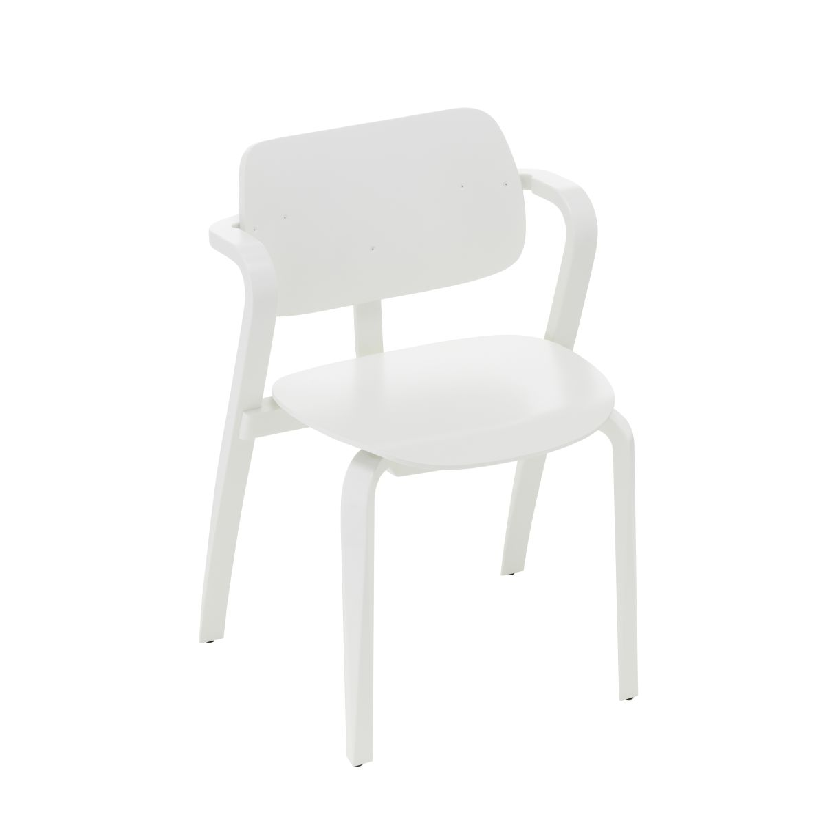 Aslak Chair white lacquered