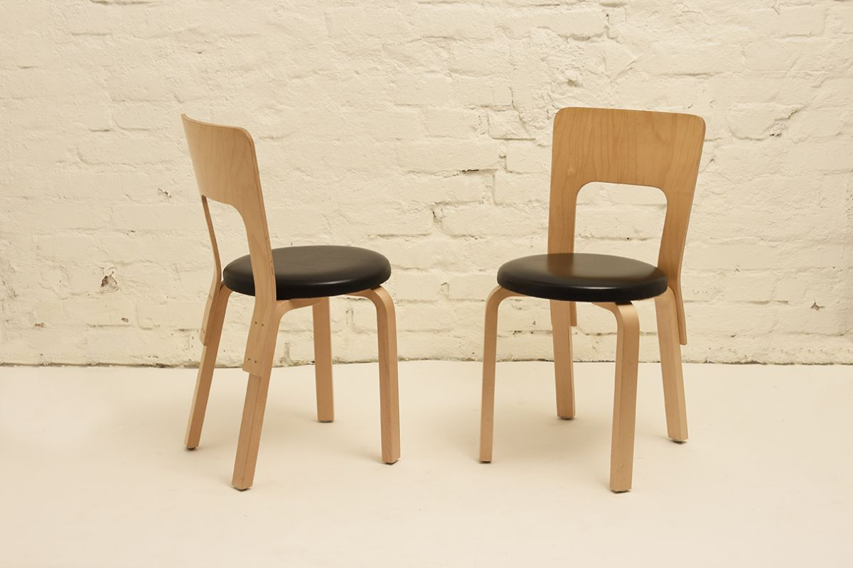 Aalto-Alvar_Chair-66-black-leather
