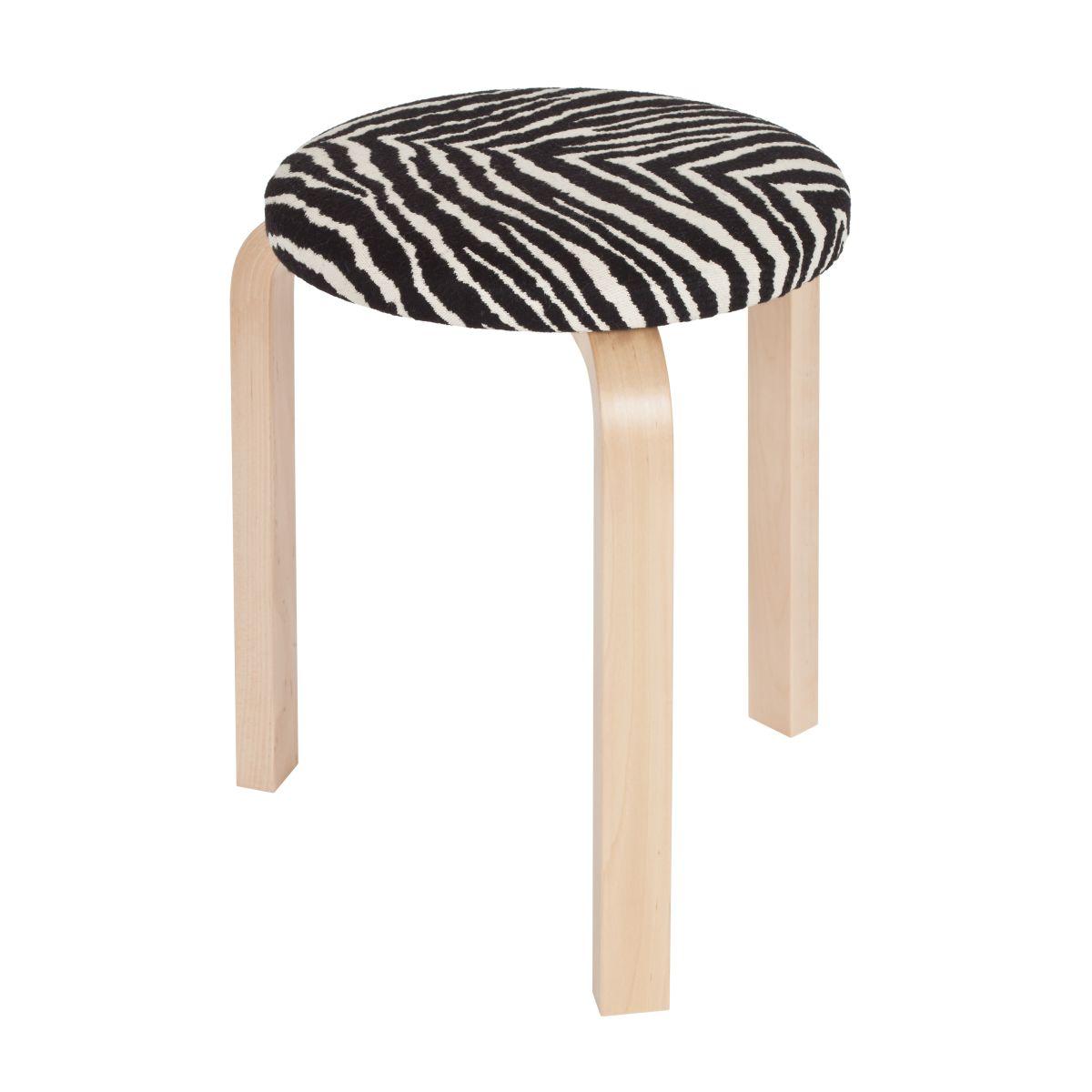 Stool-60-Zebra-Upholstery