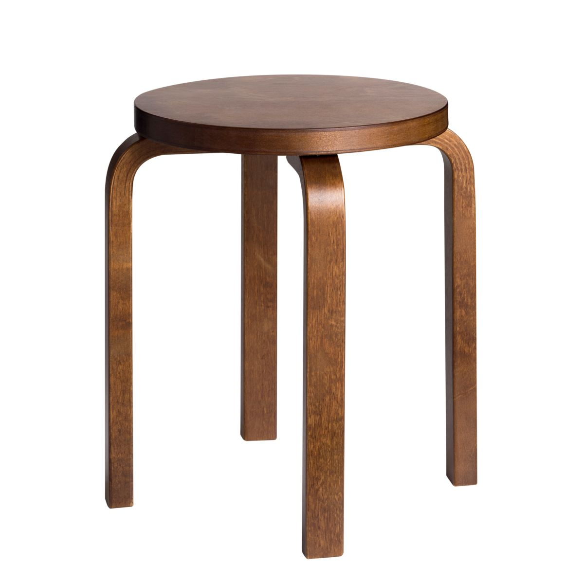 Stool E60 walnut stain