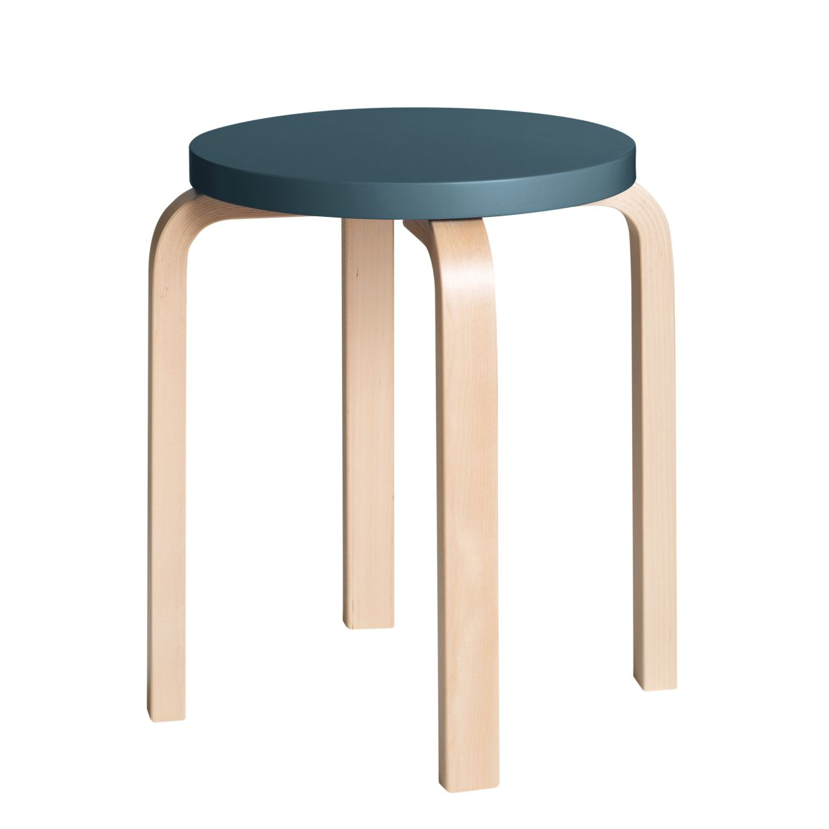Stool E60 Clear Lacquer Top Blue 2479608
