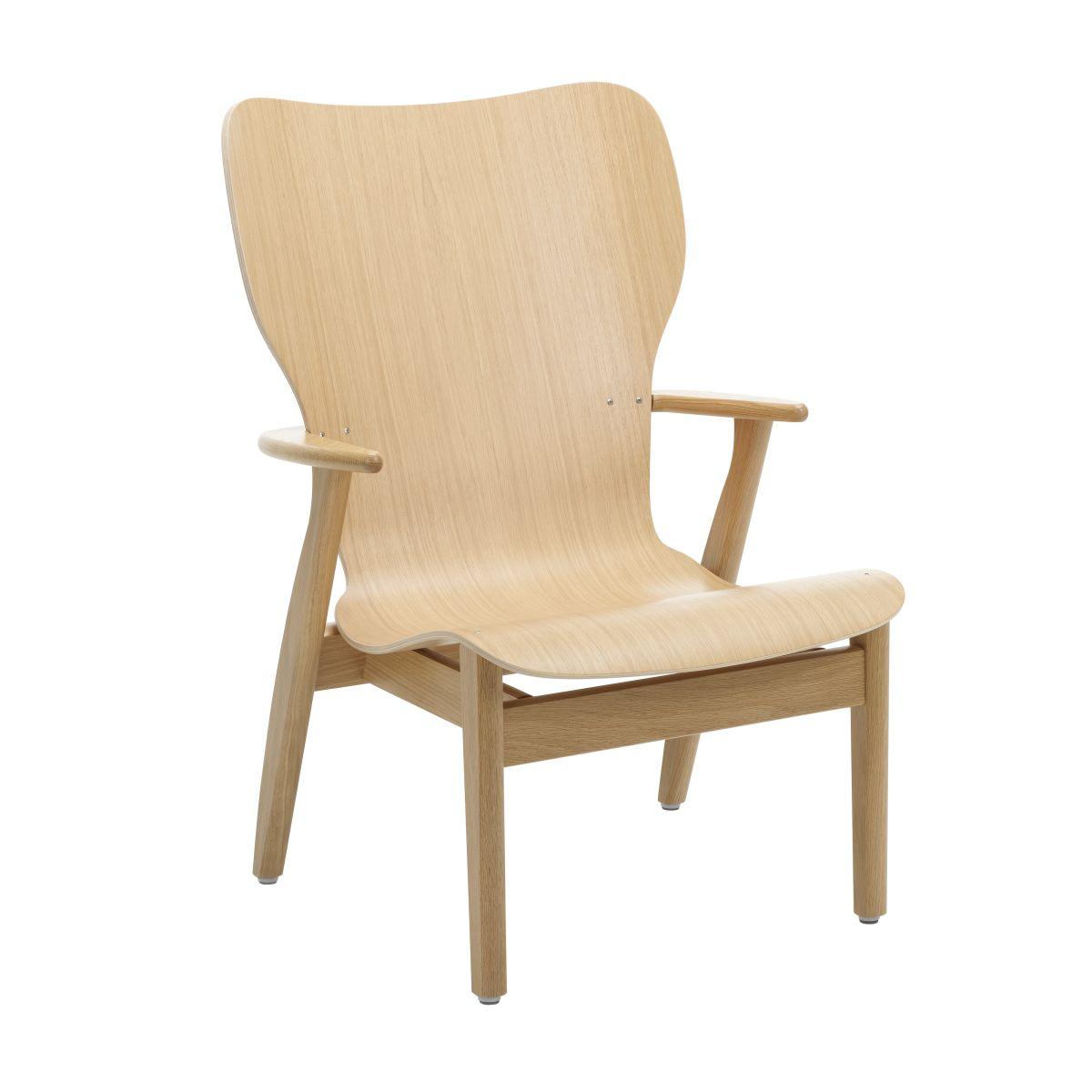 Domus Lounge Chair oak natural_F