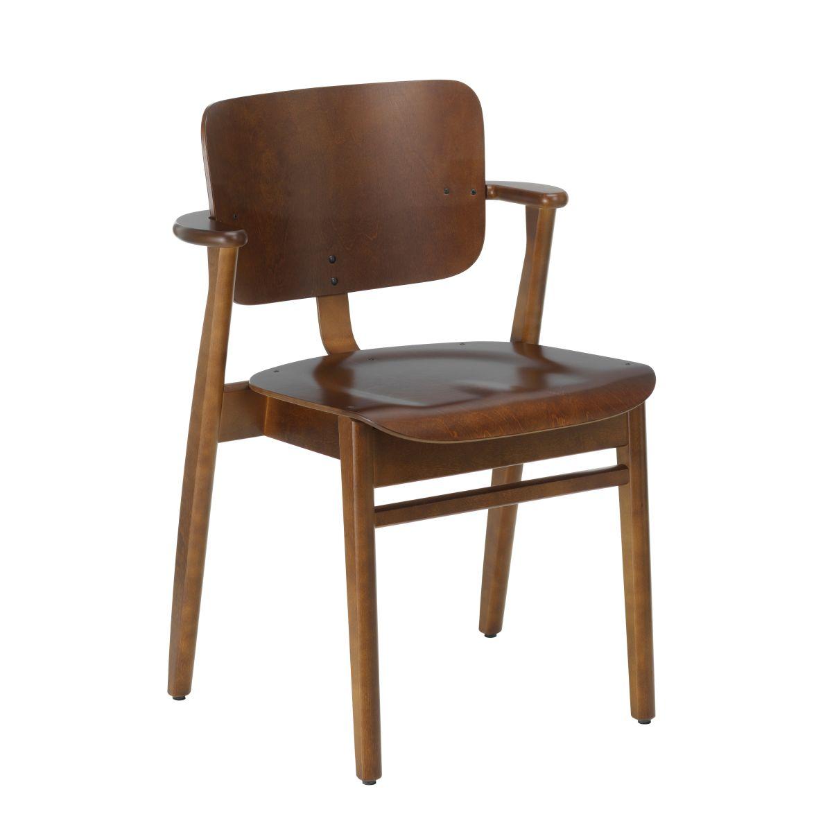 Domus Chair walnut stain_F