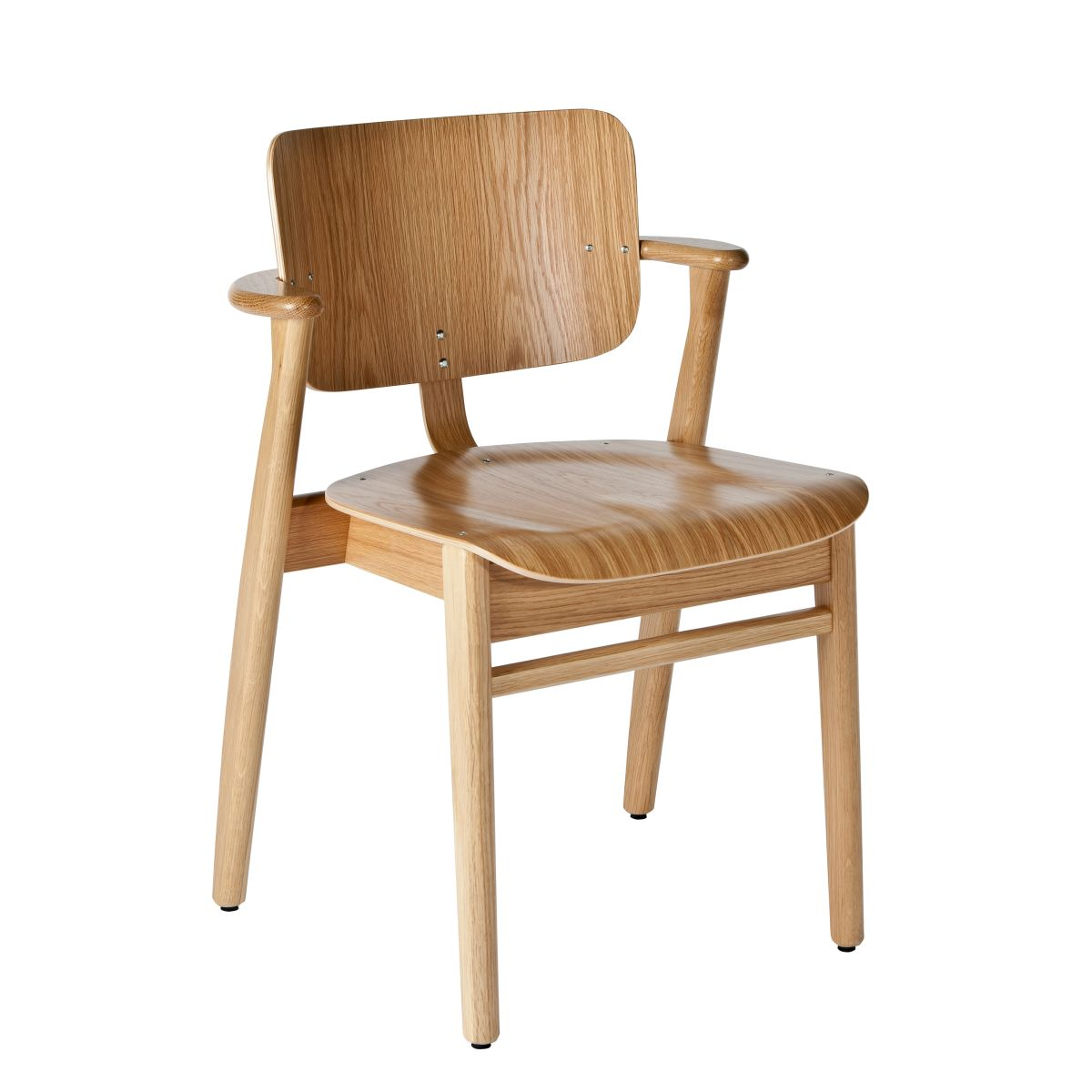 Domus Chair clear lacquered oak