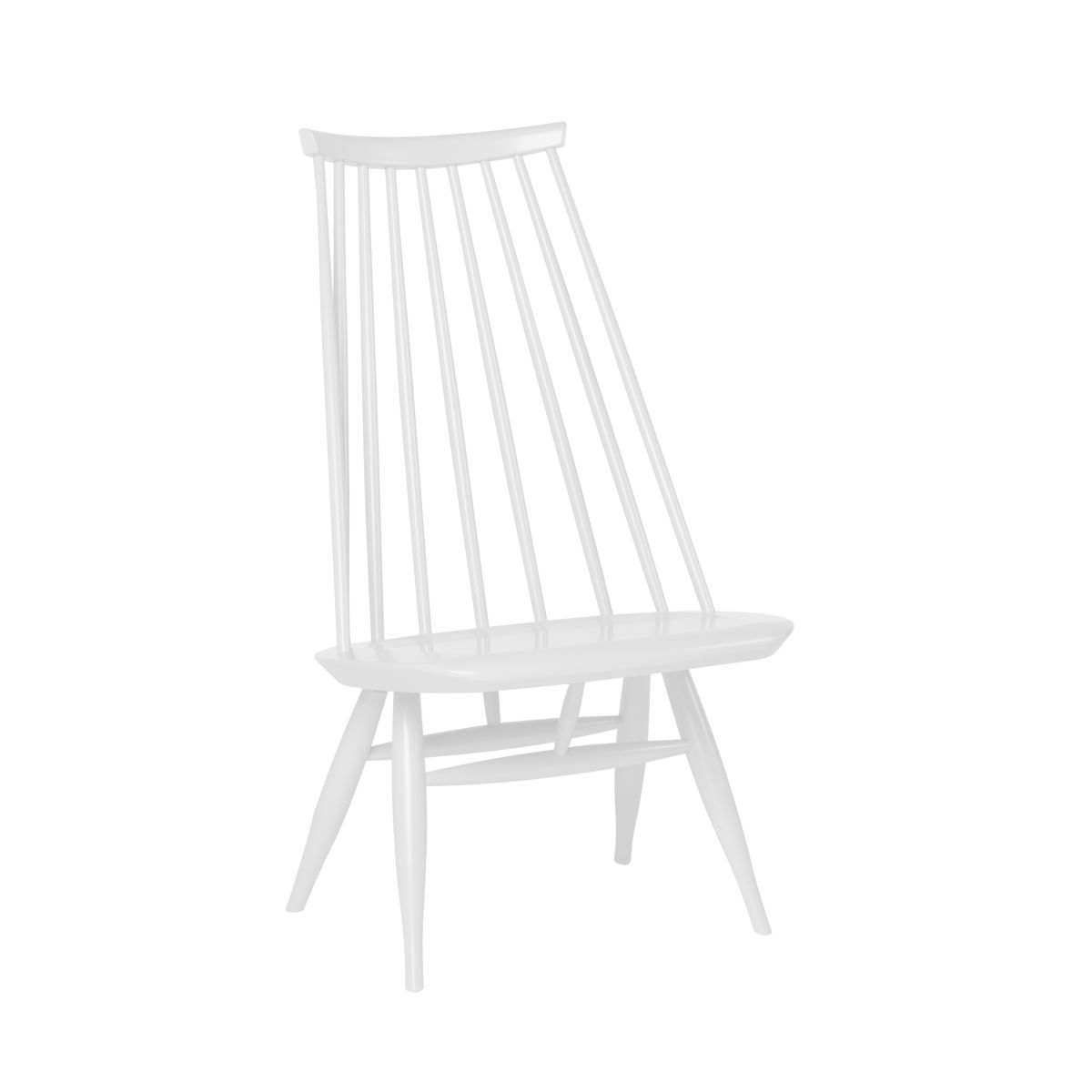 Mademoiselle Lounge Chair white lacquer