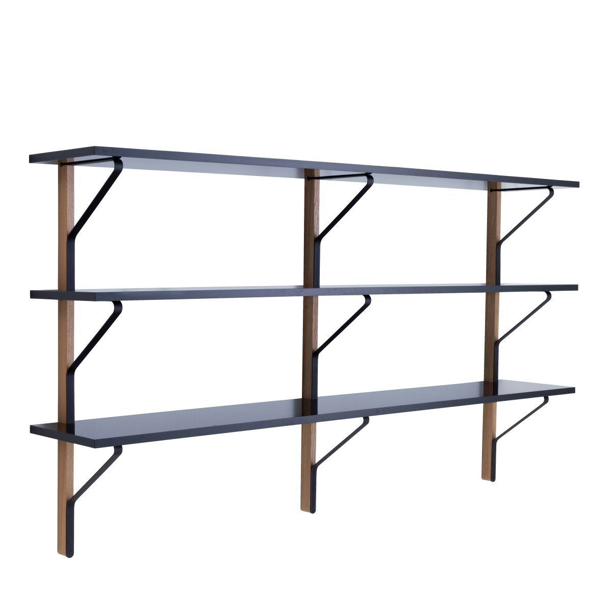 Kaari Wall Shelf REB008 black oak_WEB