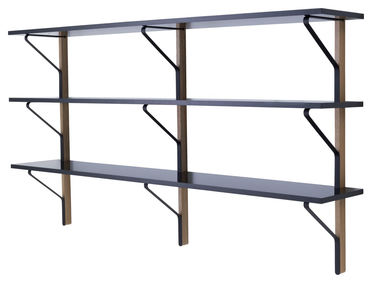 Wall To Wall Shelves artek - kaari wall shelf