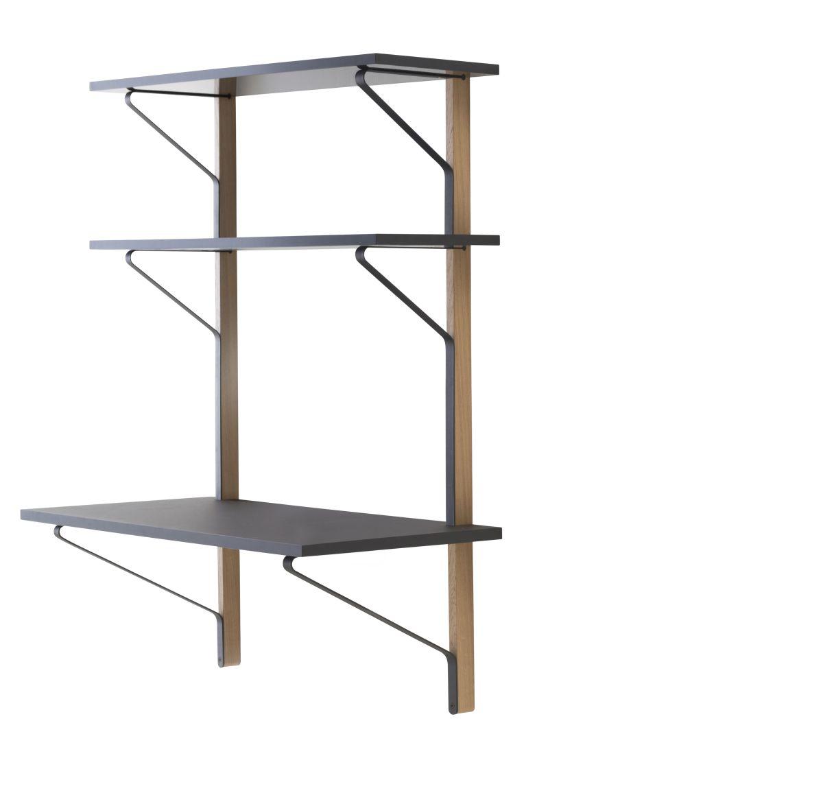 Kaari-Wall-Shelf-With-Desk-Reb013-Clear-Varnish