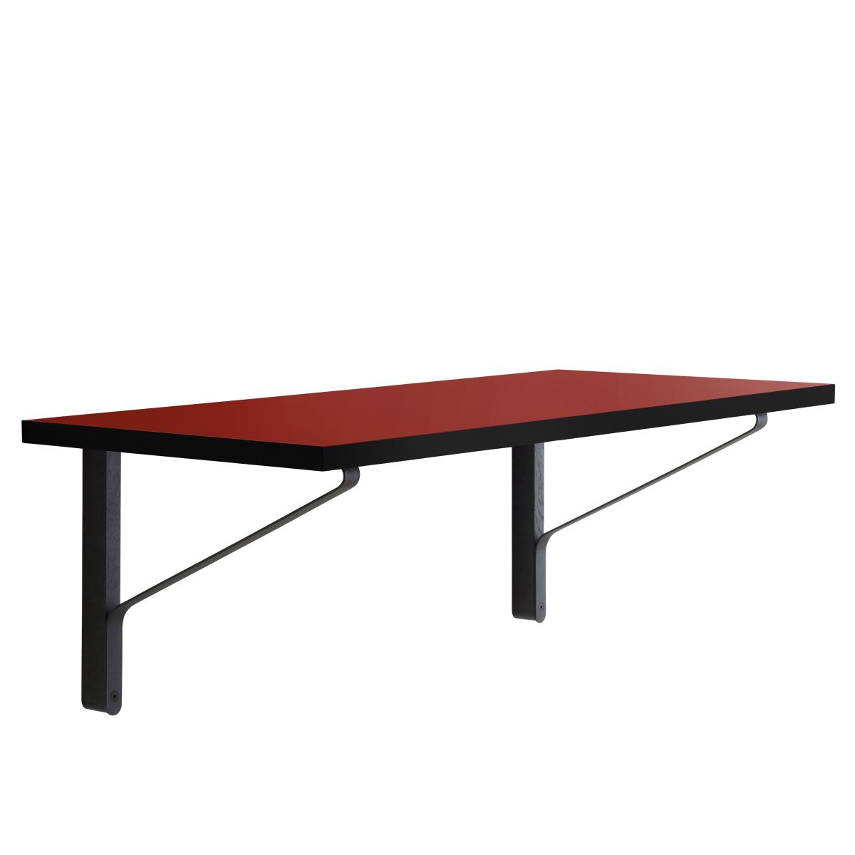 Kaari Wall Console REB006 black oak red Linoleum_WEB