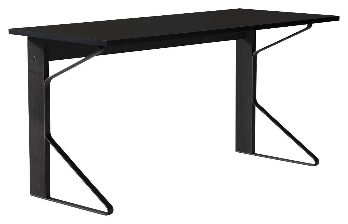 Kaari Desk REB005 black oak black HPL