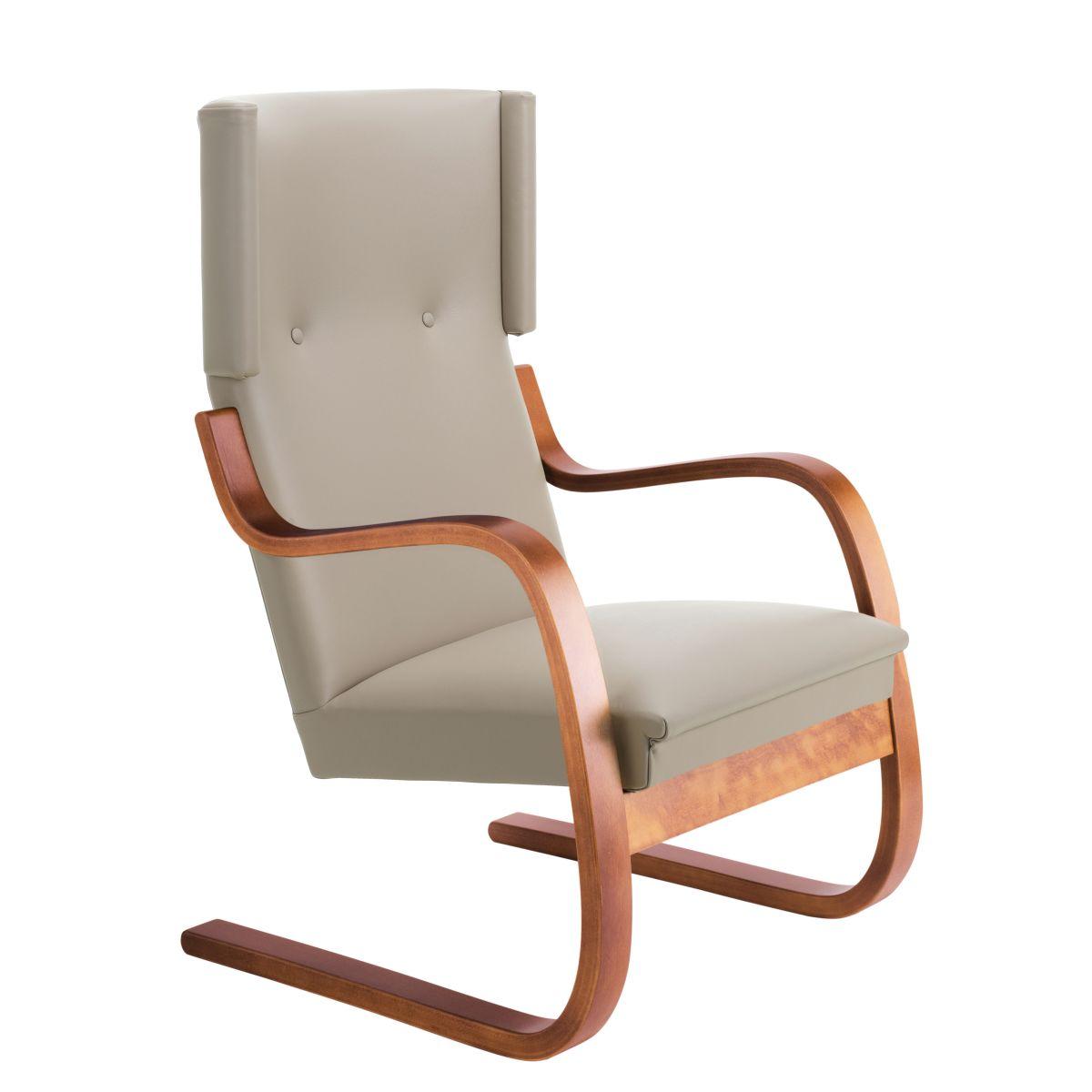 Armchair-401-walnut-stain_seat-upholstery-Sörensen-Prestige-beige_F-2912664