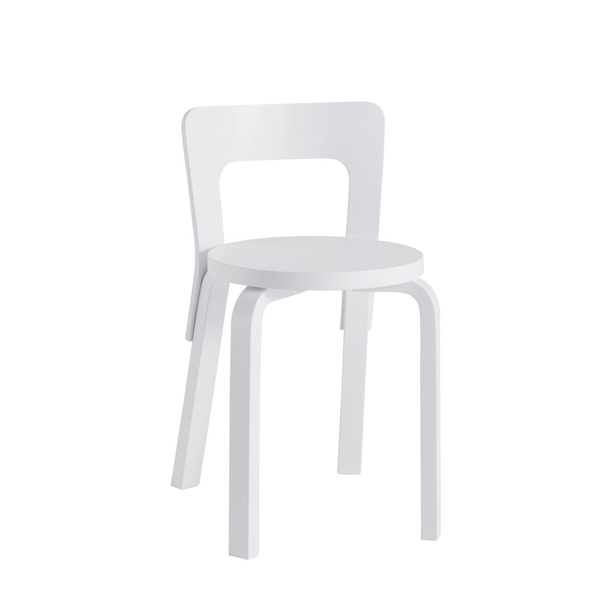 Chair 65 white lacquer