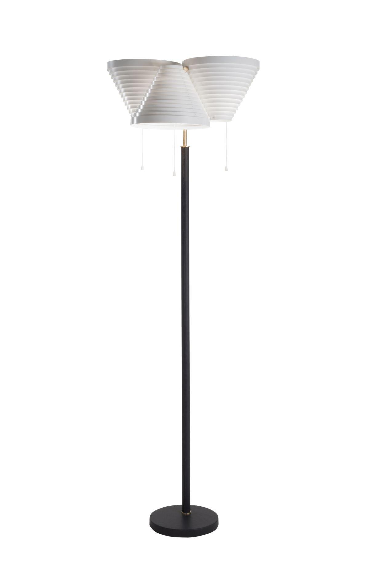 Floor Light A809 brass tube_on