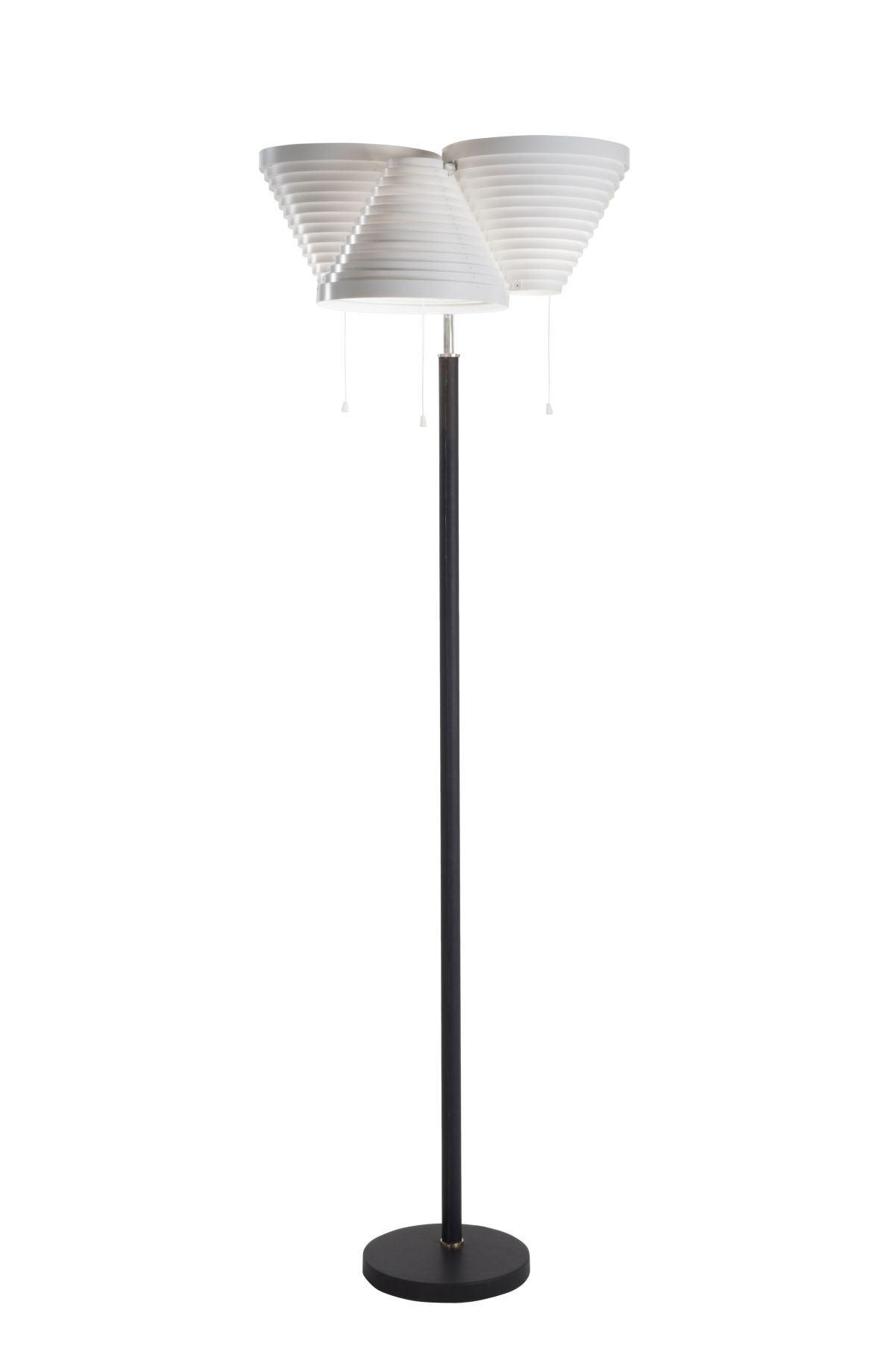 Floor Light A809 nickel tube_on