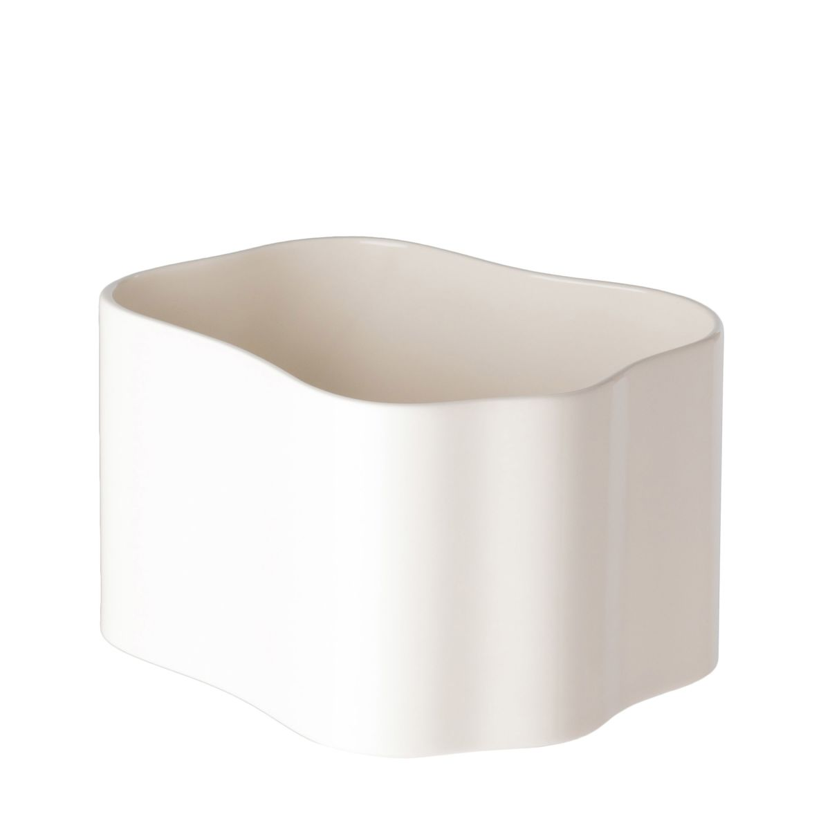Riihitie Plant Pot B Medium White_WEB