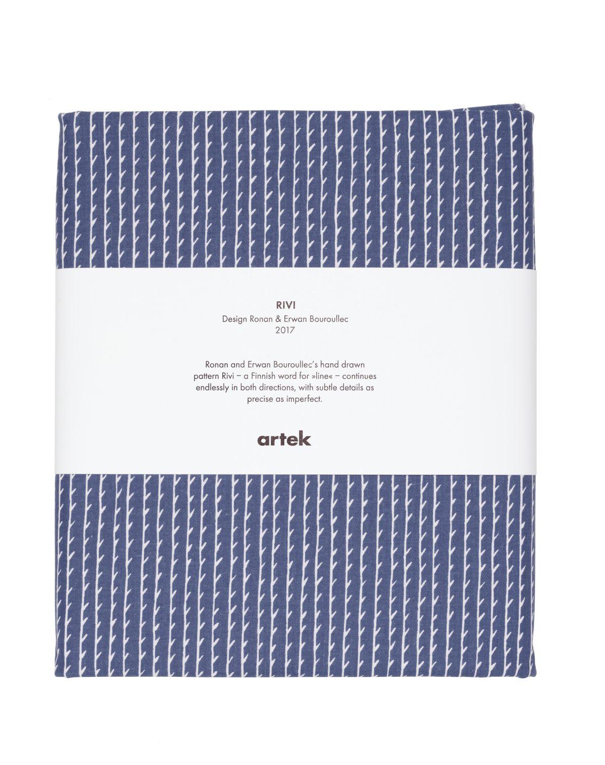 Rivi Fabric pre-cut blue_white