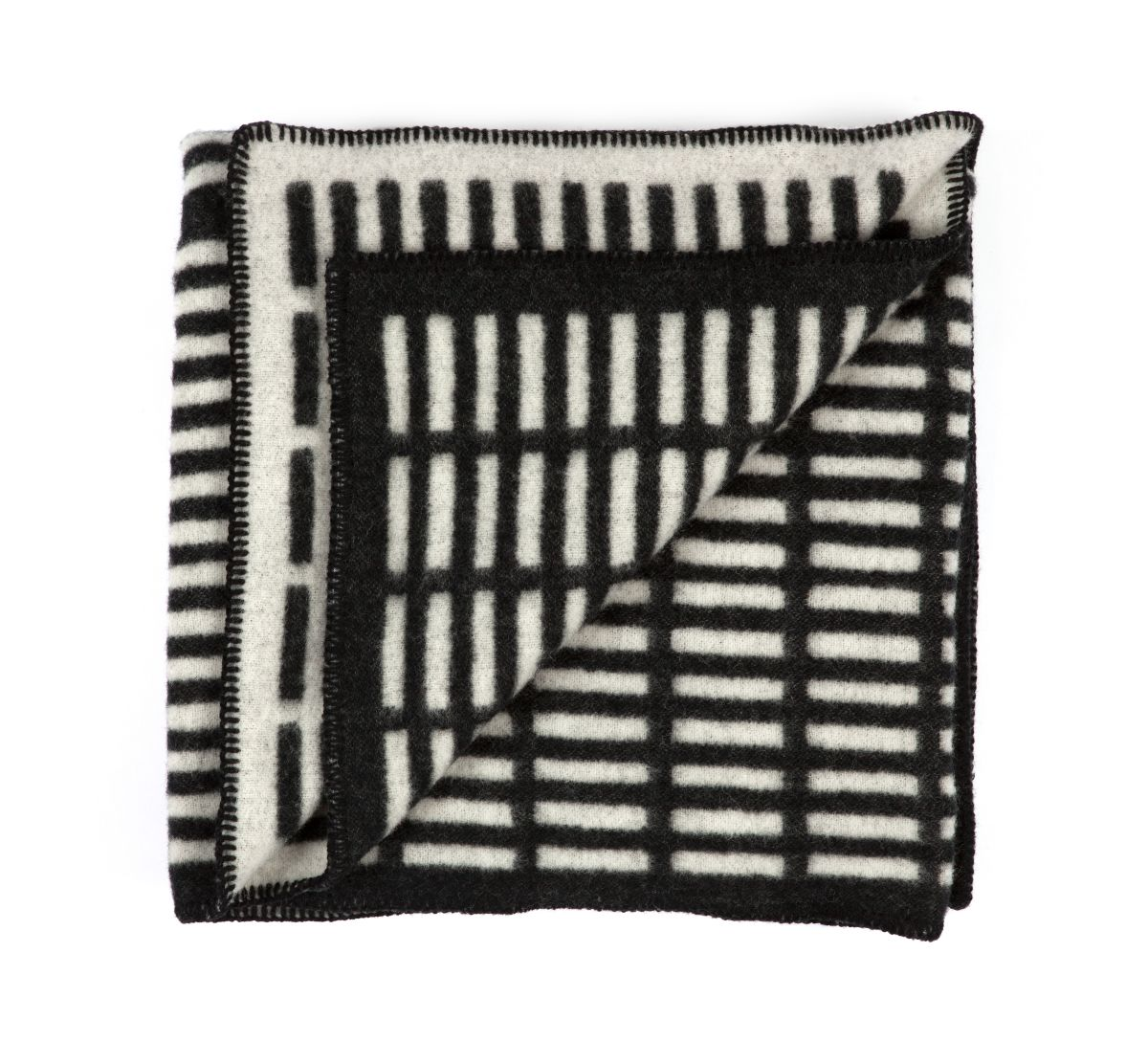 Siena Blanket white / black