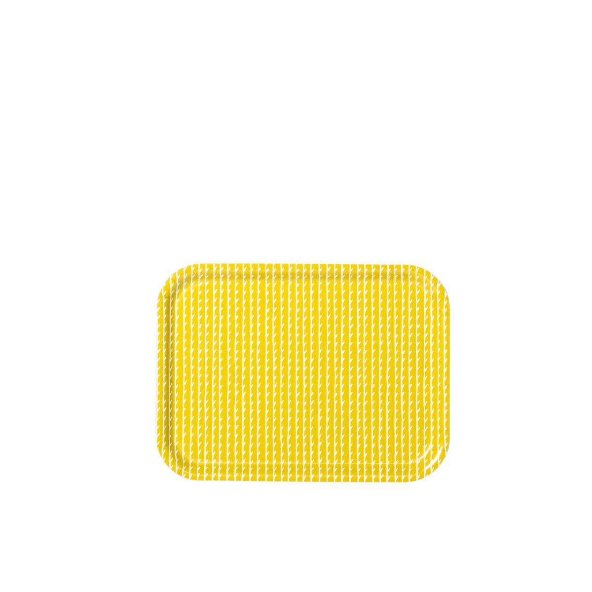Rivi Tray yellow / white small