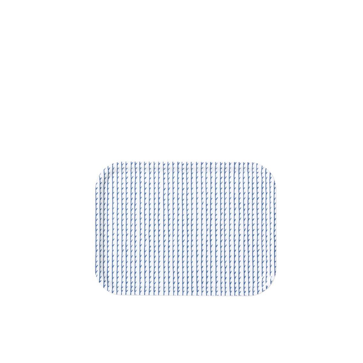 Rivi Tray white / blue small