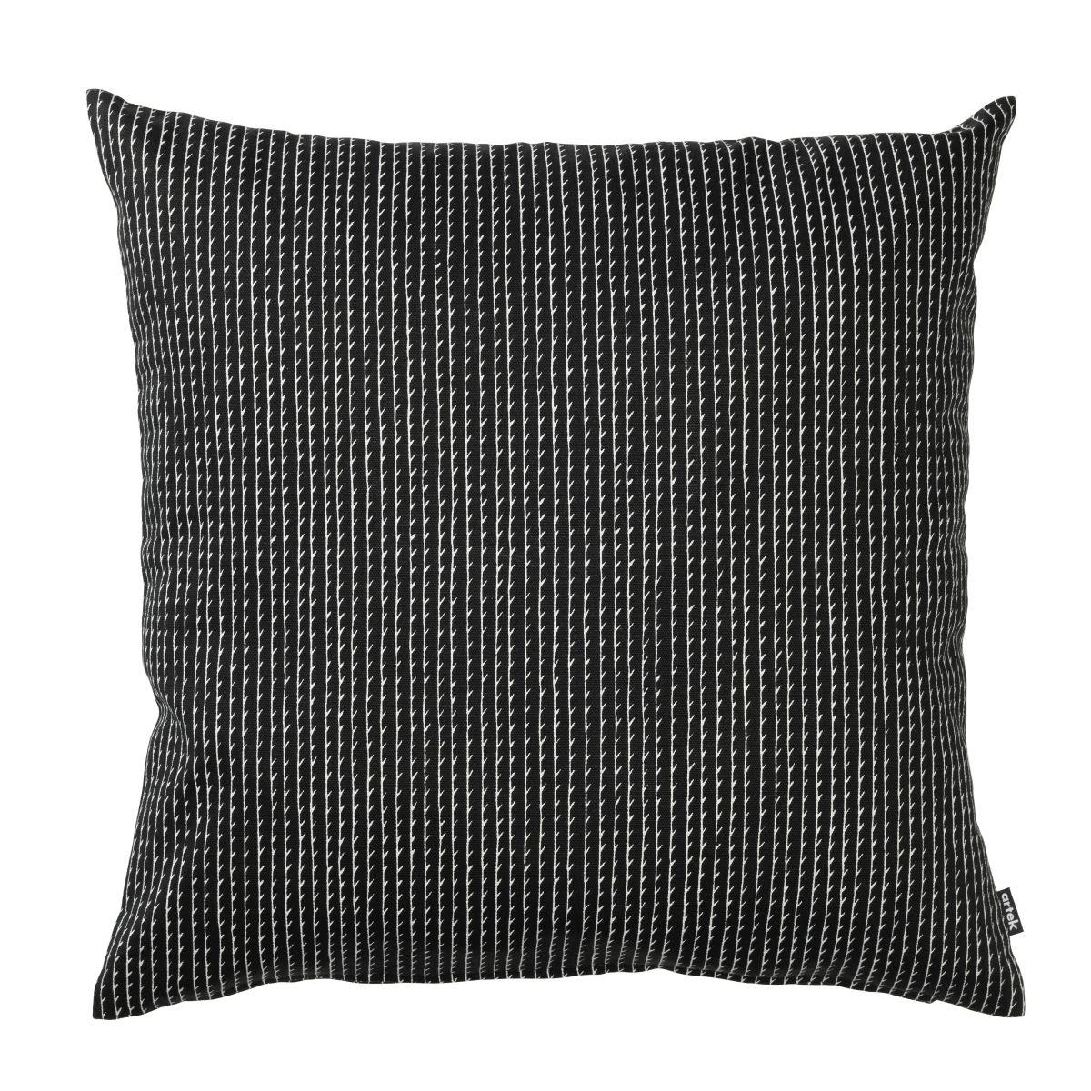 Rivi Cushion Cover black _ white large_F_web