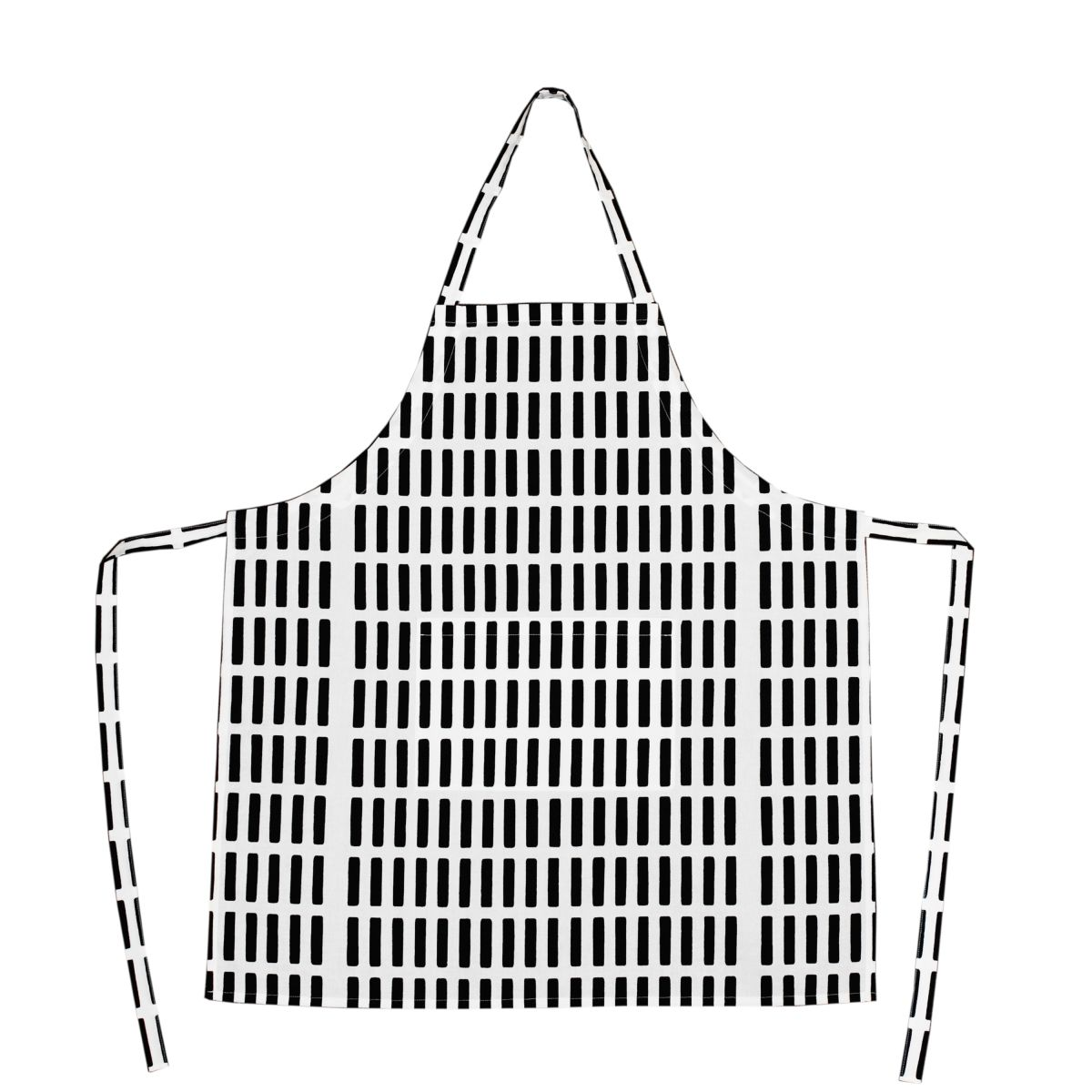 Siena-Apron-White-Black
